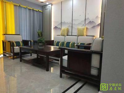 001027桂冠花园电梯复式宁阳九年一贯制邻校房 5室2卫 户型方正 新装未住