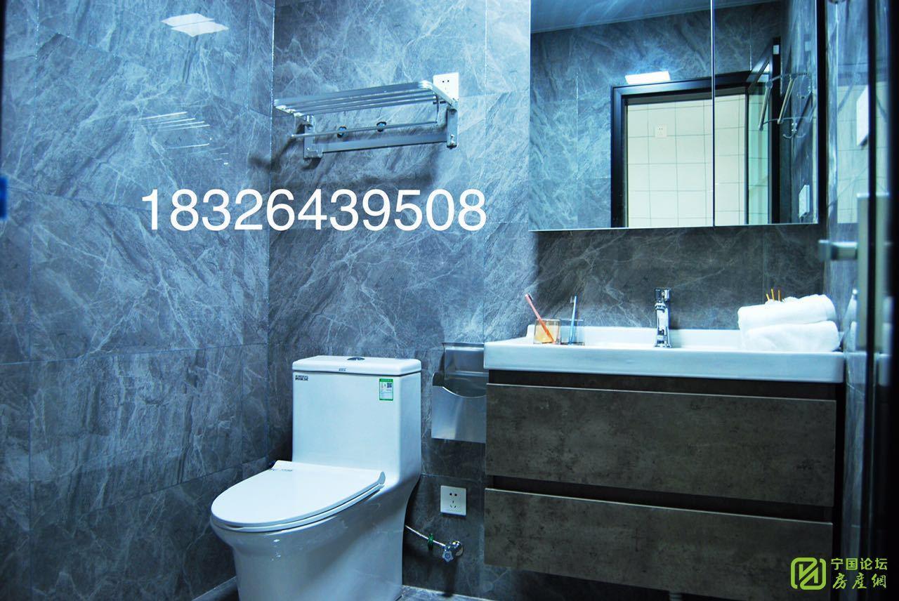 华贝广场精装电梯单身公寓家具家电崭新齐全做饭洗澡方便复式上下2张床随时看房