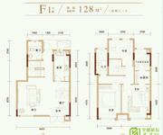锦园小高层三房两厅三卫