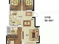 星河湾观景房,三室两厅,纯毛坯,南北通透户型,任意装修