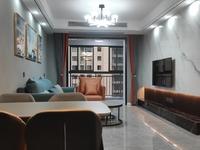 御公馆电梯好楼层超大阳台阳光无敌,70年产权小三室全屋精装修拎包入住。